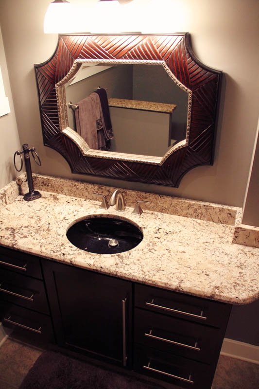 Custom Bathroom Vanities Indianapolis indy custom stone - gallery - custom granite countertops